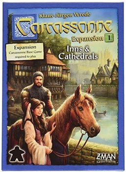 Carcassonne: Expansion 1 - Inns & Cathedrals board game