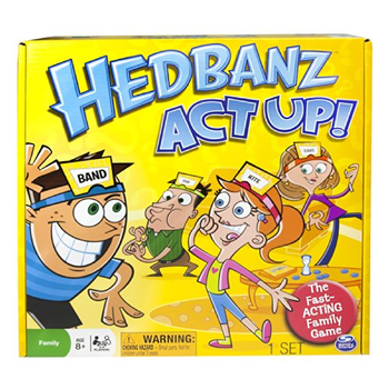 Hedbanz Act Up! board game
