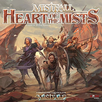 Mistfall: Heart of the Mists board game