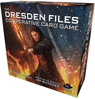 The Dresden Files Cooperative Card Game board game