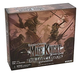 Mage Knight Board Game: The Lost Legion Expansion board game