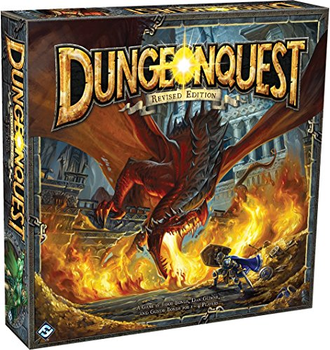 DungeonQuest Revised Edition board game