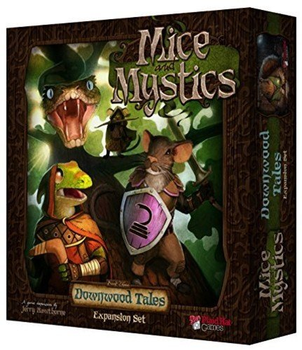 Mice and Mystics: Downwood Tales Expansion board game