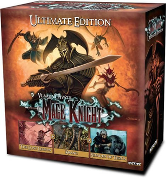 Mage Knight: Ultimate Edition board game