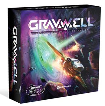 Gravwell: Escape from the 9th Dimension board game