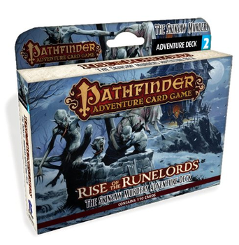 Pathfinder Adventure Card Game: Rise of the Runelords Adventure Deck 2: Skinsaw Murders board game
