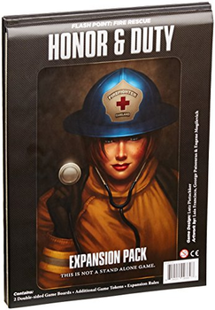 Flash Point Fire Rescue: Honor & Duty Expansion board game