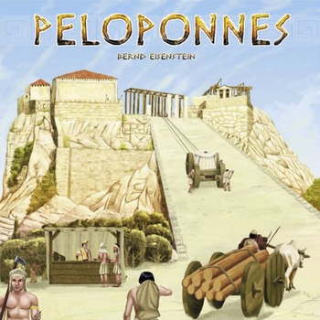 Peloponnes Board Game board game