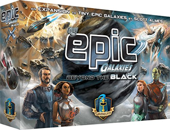 Tiny Epic Galaxies: Beyond the Black Expansion board game