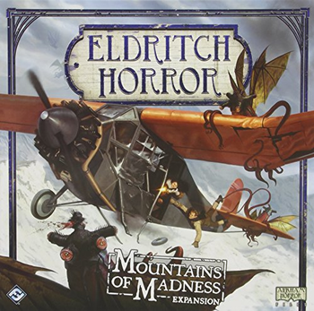 Eldritch Horror: Mountains of Madness Expansion board game