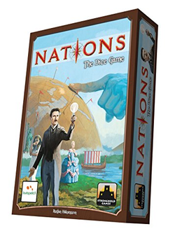 Nations: The Dice Game board game