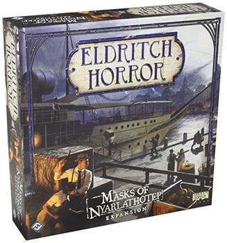 Eldritch Horror: Masks of Nyarlathotep board game