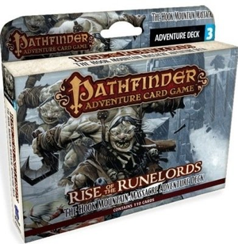 Pathfinder Adventure Card Game: Rise of the Runelords Adventure Deck 3: Hook Mountain Massacre board game