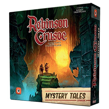Robinson Crusoe: Adventures on the Cursed Island - Mystery Tales board game