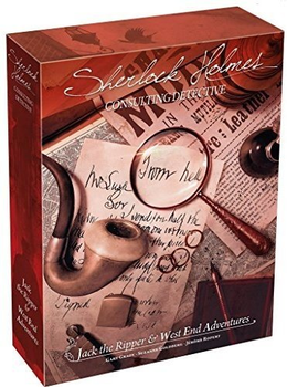 Sherlock Holmes Consulting Detective: Jack the Ripper & West End Adventures board game