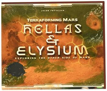 Terraforming Mars: Hellas & Elysium board game