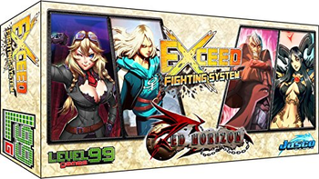 Exceed: Red Horizon - Reese & Heidi vs Vincent & Nehtali board game