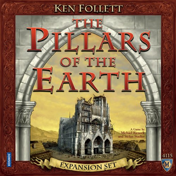 The Pillars of the Earth: Expansion Set board game