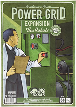 Power Grid: The Robots Expansion board game