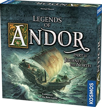 Legends of Andor: Journey to the North Expansion board game