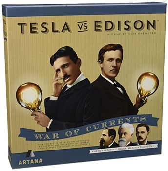 Tesla vs. Edison: War of Currents board game