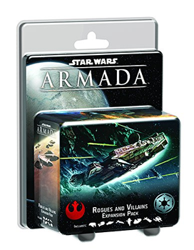 Star Wars Armada: Rogues and Villains Expansion Pack board game