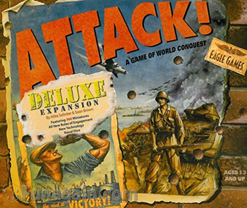 Attack! Deluxe board game