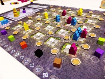Morocco board game