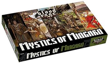 Blood Rage: Mystics of Midgard board game