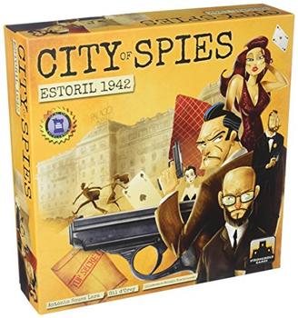City of Spies: Estoril 1942 board game