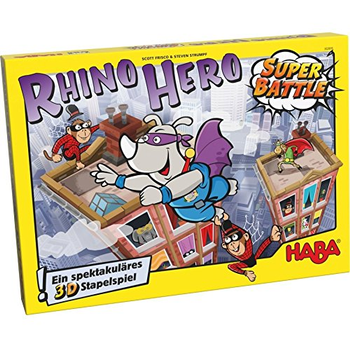 Rhino Hero: Super Battle board game