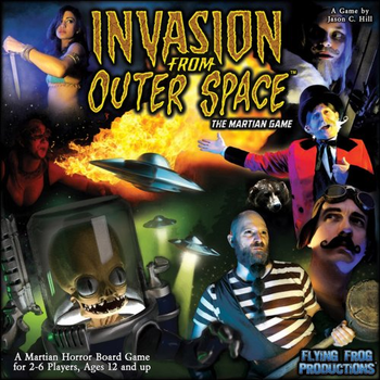 Invasion From Outer Space: The Martian Game board game