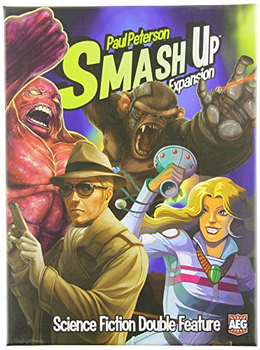 Smash Up: Science Fiction Double Feature board game