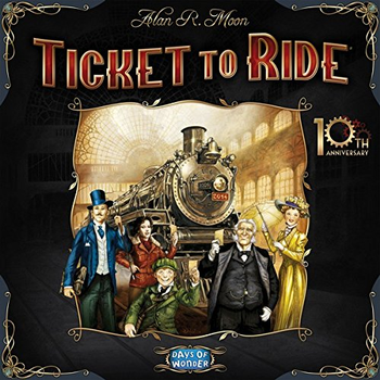 Ticket to Ride: 10th Anniversary Edition board game