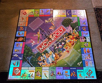 Monopoly: The Disney Edition board game