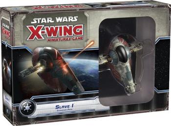 Star Wars X-Wing: Slave I board game