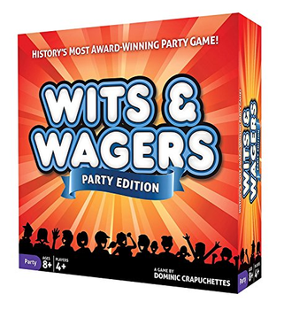 Wits & Wagers Party Edition board game