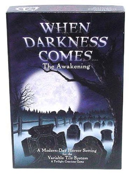 When Darkness Comes...The Awakening board game