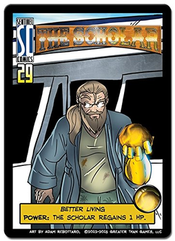 Sentinels of the Multiverse: The Scholar board game