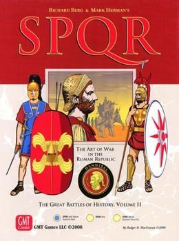 SPQR: Deluxe Edition board game