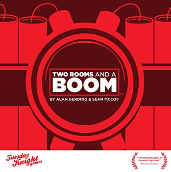 Two Rooms and a Boom board game