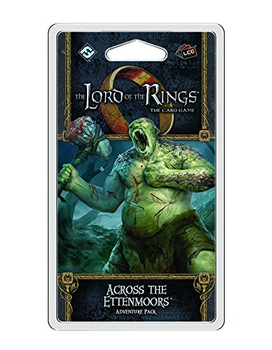 The Lord of the Rings: The Card Game - Across the Ettenmoors Adventure Pack board game