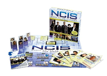 NCIS The Board Game board game