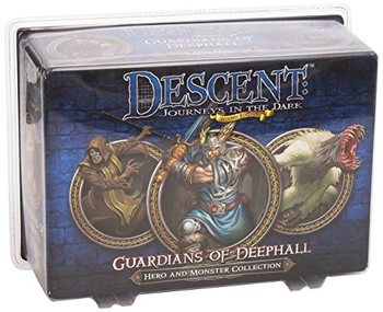 Descent: Journeys in the Dark Second Edition - Guardians of Deephall Hero and Monster Collection board game