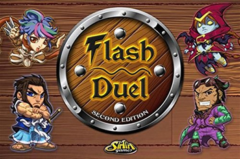 Flash Duel: Second Edition board game