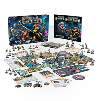 Warhammer Quest: Silver Tower board game