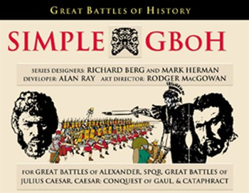 Simple Great Battles of History: Battle Manual (SGBoH) board game