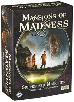 Mansions of Madness: Second Edition - Suppressed Memories Figure and Tile Collection board game