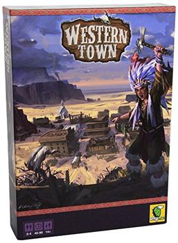 Western Town board game