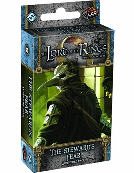 The Lord of the Rings: The Card Game - The Steward's Fear Adventure Pack board game